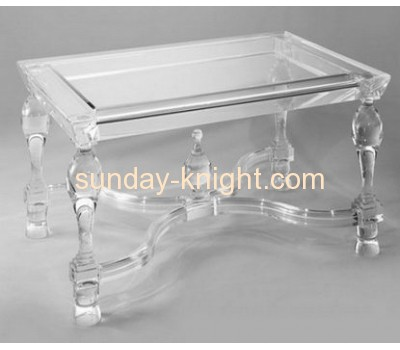 Acrylic clear rectangle shape coffee table  AFK-002