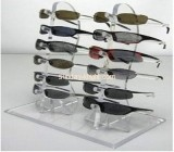 Perspex sunglasses display with 6 holders SDK-004