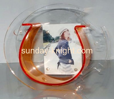Lucite fish bowl with pictures insert FTK-002