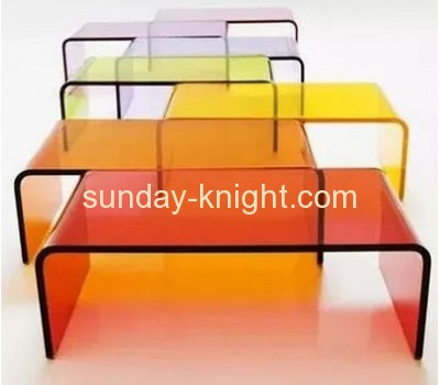 Clear acrylic modern side table AFK-004