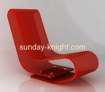 Perspex Living Room Chairs Chaise Lounge AFK-003