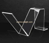 V shape perspex shoe display stands SSK-008