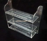 Three layers perspex shoes display rack SSK-011