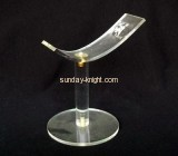 Clear lucite shoes display stands for retail display SSK-010
