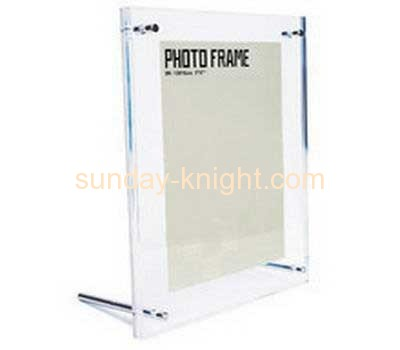 Acrylic photo frame with two stands APK-011