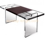 High quality fashion acrylic computer desk table design with competitive price AFK-036