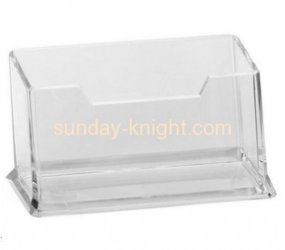 New design top quality acrylic business card holder or name card holder BHK-025
