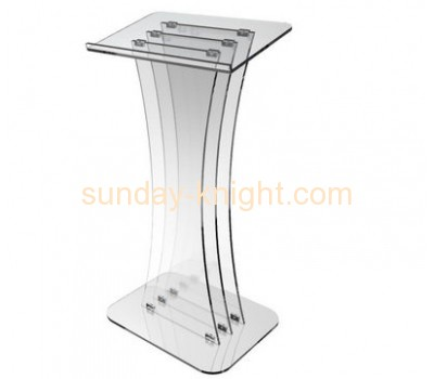 Acrylic rostrum conference lectern podium pulpit lectern AFK-043