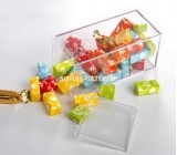 Custom retail store storage display acrylic plastic candy box FSK-043