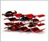 Wholesale acrylic display plexiglass display wine display stand WDK-031