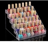 Custom acrylic display nail polish makeup organizer MDK-049