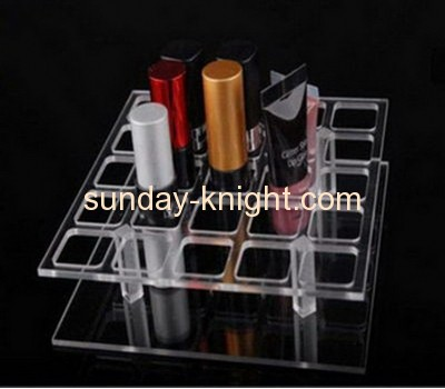 Wholesale acrylic lipstick holder lipstick display stand cosmetic organizer MDK-051