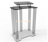 Wholesale acrylic modern church podium lectern podium plexiglass lectern AFK-048