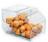 Wholesale plastic acrylic food box acrylic storage box counter display box FSK-048
