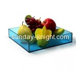 Factory hot sale acrylic tray fruit tray plastic fruit tray FSK-049