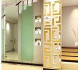Hot sale acrylic korean wall sticker ikea mirror tiles mirror acrylic MAK-055