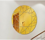Wholesale acrylic luxury mirror ikea round wall mirror decoration mirror decorative MAK-062