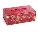 Hot sale acrylic box tissue plexiglass box small acrylic box DBK-092