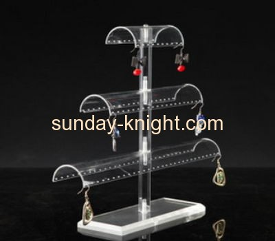 Custom acrylic earring display rack retail earring display racks jewlery display JDK-150