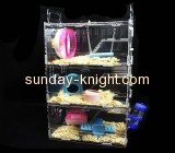 Lucite manufacturer customize large hamster house hamster cages for dwarf hamsters PCK-102