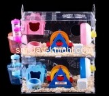 Display case manufacturers customize big dwarf hamster cages PCK-112