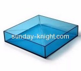 Acrylic manufacturers customize color service tray stand holder ODK-076