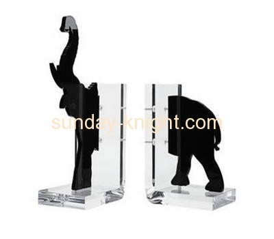 Perspex manufacturers customize acrylic block bookends ODK-041