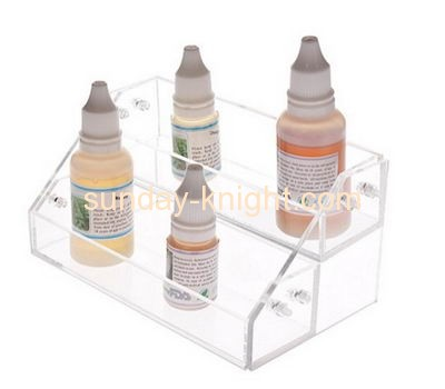 China acrylic manufacturer display shelves holders for e cig liquid ODK-044