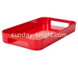 Acrylic display stand manufacturers customize snacks serving tray holder ODK-087