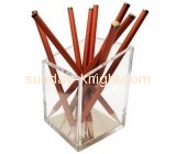 Plexiglass company customize office pen and pencil holder ODK-100