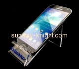 Acrylic items manufacturers customized smartphone holder desk cell phone stand CPK-111