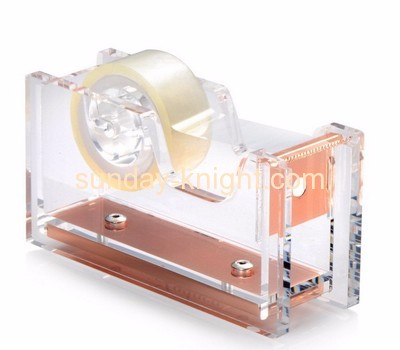 Perspex manufacturers customized acrylic mini tape dispenser holder ODK-106