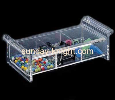 Acrylic display case with two divider DBK-004