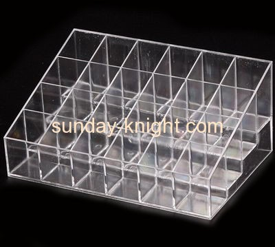 Wholesale acrylic nail polish display rack retail display counters makeup stand MDK-079
