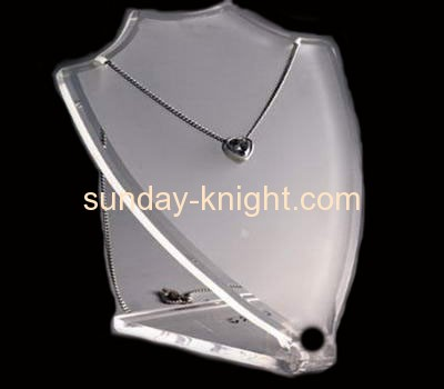 Acrylic jewelry displays for necklace JDK-004