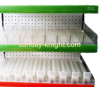 Custom design acrylic cigarette display rack cigarette display stand cigarette counter display ODK-028