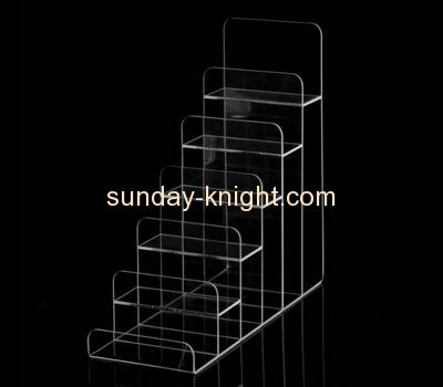 Acrylic items manufacturers customized acrylic wallet display stand ODK-136
