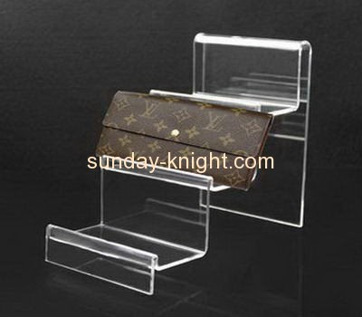 Acrylic manufacturers customized acrylic wallet display stand holders ODK-140