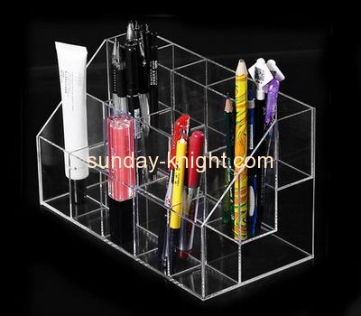 Display stand manufacturers customized acrylic multiple pen holder display stand ODK-144