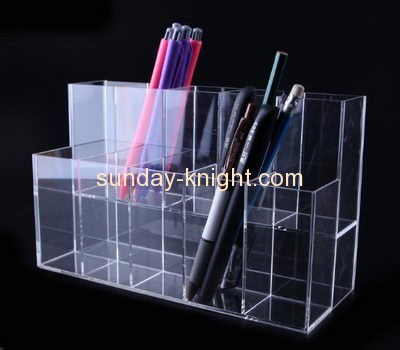 Acrylic display factory customized acrylic stationery pen holder display stand ODK-150