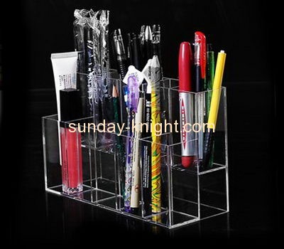 Perspex manufacturers customized acrylic pen holder display stand ODK-146