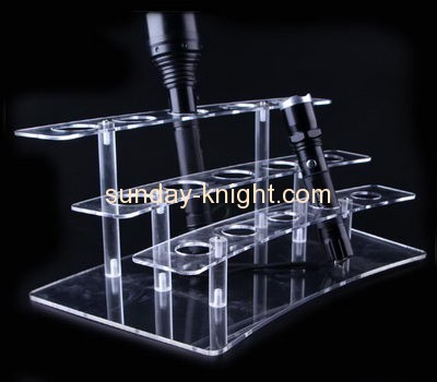 Acrylic display manufacturers customized flashlight stand display holders ODK-156