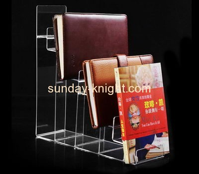 Acrylic display factory customized book holder display stand ODK-166