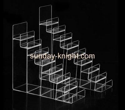 Acrylic display supplier customized counter top riser display stands ODK-168