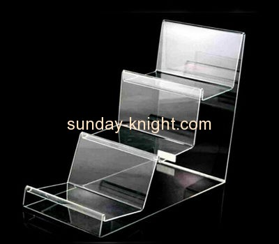 Acrylic display stand manufacturers customized wallet holder retail displays for sale ODK-170