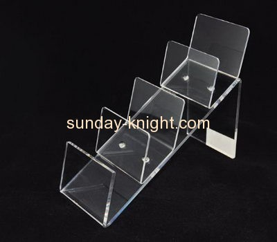 China acrylic manufacturer customized acrylic riser store display racks stands ODK-178
