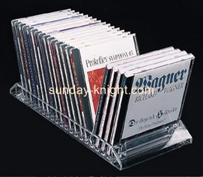 Acrylic display supplier customized bookshop display stands holders ODK-188