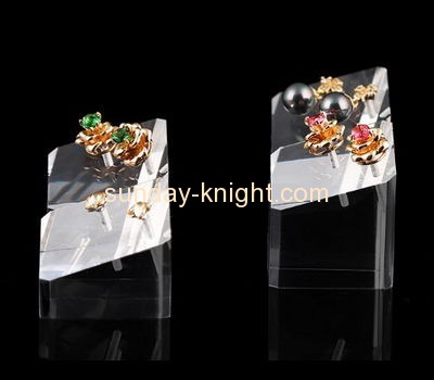 Acrylic items manufacturers customized earring display holder stands for retail JDK-318