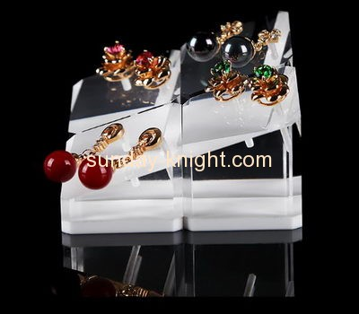 Acrylic display factory customized retail jewellery stud earring holder display stands JDK-321