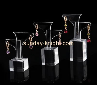 Acrylic display stand manufacturers customized best earring display holder JDK-335
